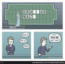 Grammer Nazi Meme - grammar police or grammar nazi tellwut com