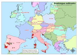 European Time Zone Map by Animal Disease Notification System Adns European Commission