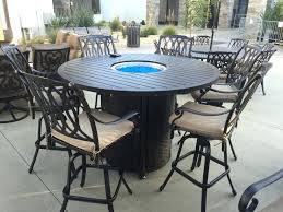 Outside Patio Table Patio Table With Pit Propane Outside Outdoor In Middle Uk