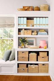 Bookcase With Baskets 23 Genius Ideas To Use Baskets As Extra Storage In The Small