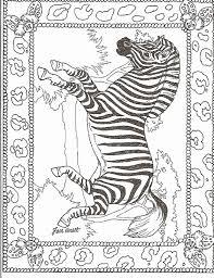 zebra color page zebra coloring pages