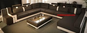 canap d angle en u canapé d angle panoramique en cuir italien design et pas cher