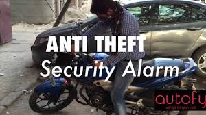 autofy anti theft security system alarm installation for royal