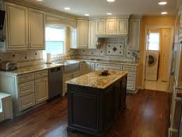 Designs For L Shaped Kitchen Layouts by Elegant White Wooden L Shaped Kitchen Island For Your Layout Plans