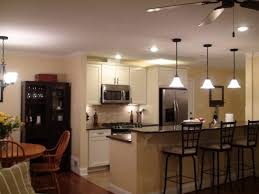 cool track lighting installation above the kitchen island image result for kitchens with track lighting home pinterest