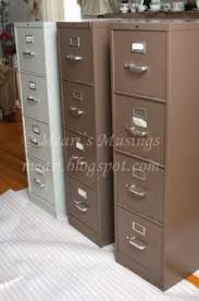 Metal Filing Cabinet How To Use Chalk Paint On A Ugly Metal Filing Cabinet Diy U0027s