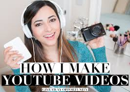 camera and lighting for youtube videos vlogging and blogging equipment photography lighting and editing