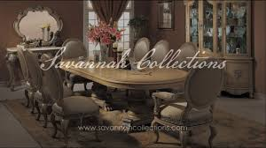 french dining room collection in antique bisque by savannah