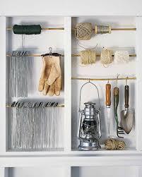 garage and shed organizing ideas martha stewart