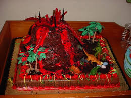 coolest homemade volcano cake ideas decorating tips