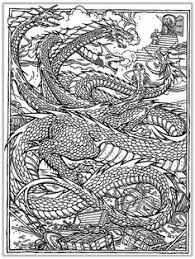 realistic dragon coloring pages bing images coloring pages