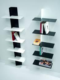 librerie muro libreria da parete in acciaio a colonna 45 x 160 cm