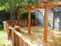 Deck Plans With Pergola by Pergola Design Ideas St Louis Decks Screened Porches Pergolas