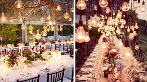 decoration mariage vintage 50 idées déco pour un mariage vintage ampoule déco vintage et ciel
