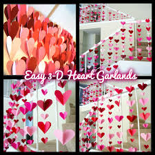 3 d paper garlands easy diy decorations miss