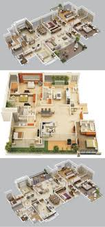 Best   Bedroom House Plans Ideas On Pinterest House Plans - Four bedroom house design