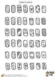 Coloriage Mode Filles Séries Ongles