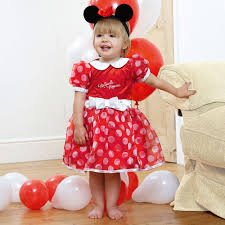 baby red u0027minnie mouse u0027 disney dress costume childrensalon