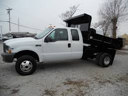 Ford F350 Dump Truck With Plow - 2004 f 350 ext cab 4 4 v 10 dump truck