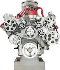 Ford 390 Water Pump Billet Specialties Tru Trac Ford Fe Front Engine Kit Serpentine