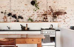 cuisine brique se laisser séduire par une cuisine en briques d esprit wabi sabi