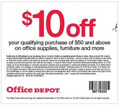 office depot coupons november 2014 office depot coupon september 2014 10 off 50 at office depot or
