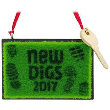 new digs welcome mat 2017 hallmark ornament gift ornaments