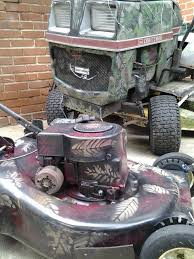 how long before your cheap lawn tractor fell apart