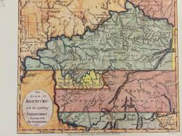 Map Of Kentucky State by Slideshow 8 Historic Maps Of The Four Rivers Region Wkms