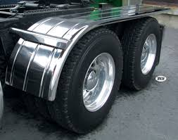 used semi trucks universal rear half tandem fenders