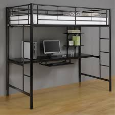 Bunk Bed With Desk Bunk Bed Desk Combo Metal Loft Bed With Desk U2013 Laluz Nyc Home Design