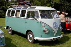 green volkswagen van vw type 2 the most important van in the history drivetribe