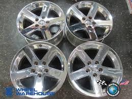 20 stock dodge ram rims 09 13 dodge ram 1500 factory chrome clad 20 wheels oem rims