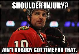 Blackhawk Memes - blackhawks in playoffs will patrick sharp be back in time