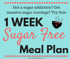 sugar free diet plan 1 week meal plan pdf u2022 healthy happy smart