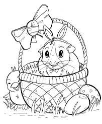 guinea pig coloring pages pig itgod