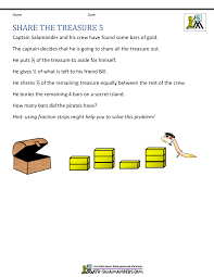 math problem fractions 5th grade math problems