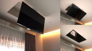 tv a soffitto tv moving mf sollevatore tv motorizzato da soffitto per tv a