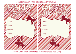Printable Party Invitation Cards Free Christmas Party Invitations U2013 Gangcraft Net