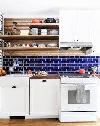 blue kitchen backsplash white cabinets 1001 ideas for ultra modern kitchen backsplash ideas