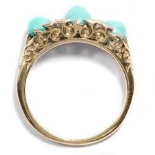 verlobungsring sprã che die sprache der liebe ungewöhnlicher goldring mit türkis und