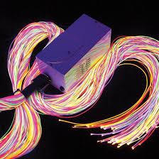 fiber optic light strands ultra violet fiber optics flaghouse