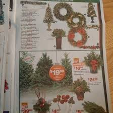 home depot black friday artifical trees home depot black friday flyer