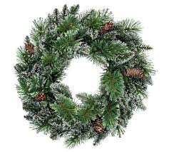 Outdoor Christmas Decorations Argos by Buy Heart Of House Prelit Wreath Christmas Decoration Snowtipped