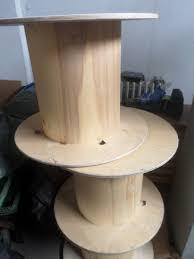 touret bois deco touret en bois esprit industriel loft u2013 luckyfind