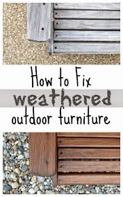 How To Fix Wicker Patio Furniture by How To Weather Proof Outdoor Furniture Fixing The Adirondack