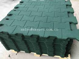Recycled Rubber Patio Pavers Driveway Rubber Patio Pavers Anti Slip Recycled Rubber