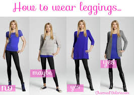 casual dress to wear with leggings latest fashion style