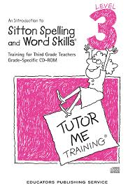 components sitton spelling and word skills specialty eps
