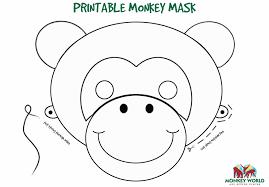 printable printable monkey template